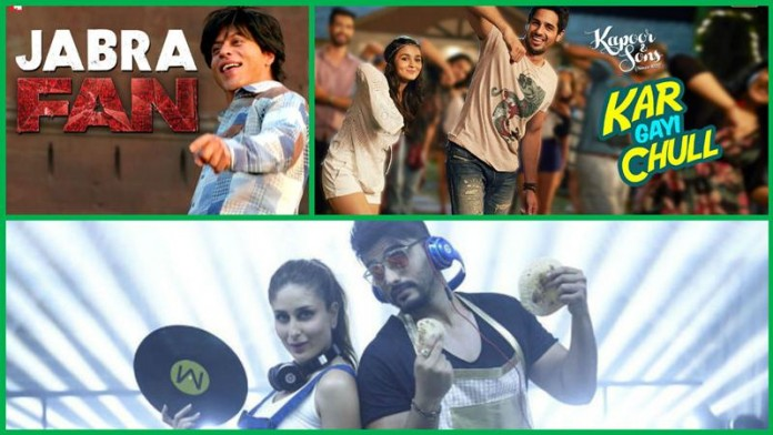 Top 10 Bollywood Songs of the Week | 22-Feb-2016 to 28-Feb-2016- Top 10 Songs