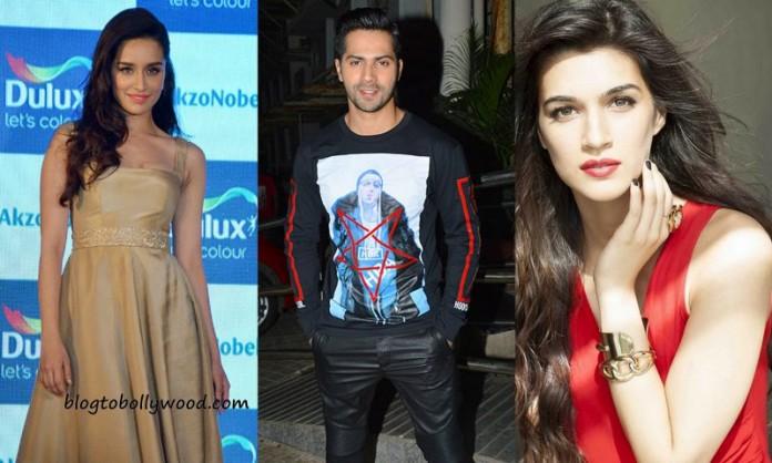 Judwaa 2 Starcast - Varun Dhawan to romance Kriti Sanon and Shraddha Kapoor In Judwaa 2