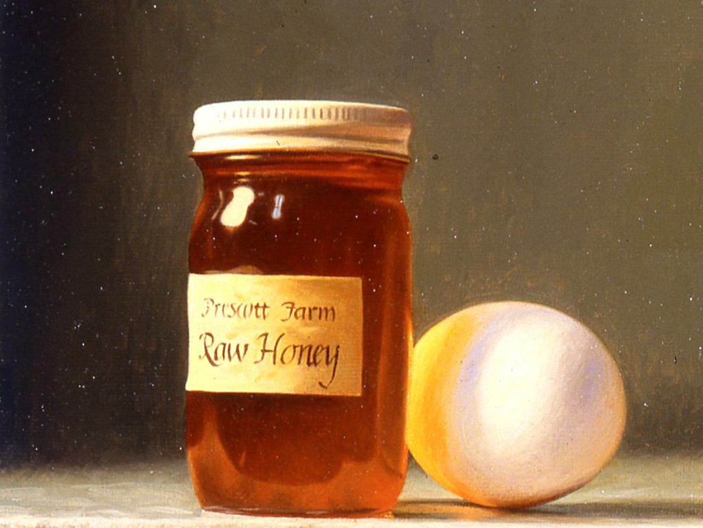 Honey, Potato & Egg White Mask