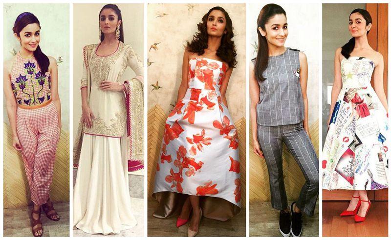 Alia Bhatt's Style Game