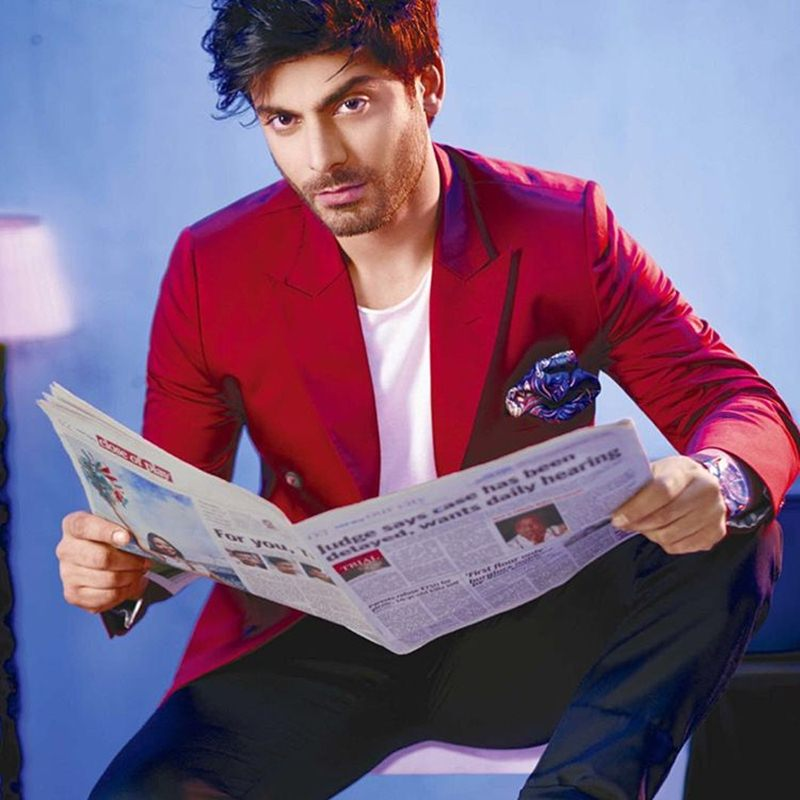 Fawad Khan on the cover of The Man makes our heart beat faster and faster!- Fawad 1