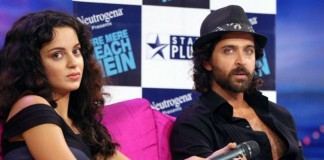 Things Getting Ugly   Hrithik Roshan and Kangana Ranaut slap a legal notice on each other