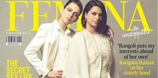 Kangana Ranaut and sister Rangoli add lustre to Femina India Cover- kangana and rangoli
