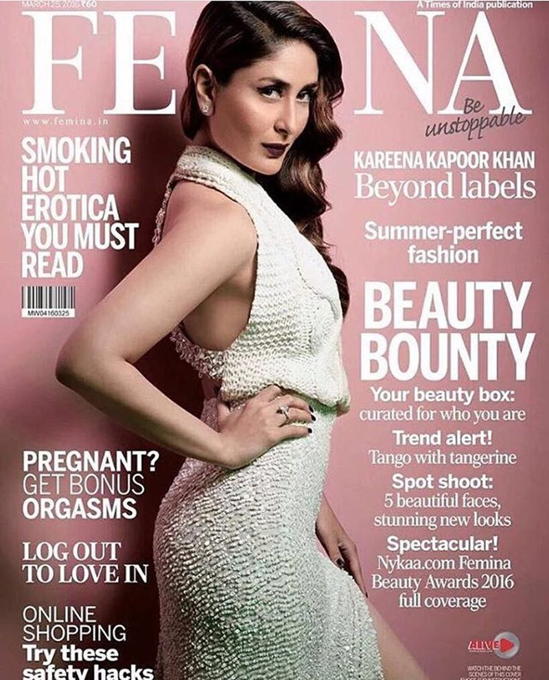 Kareena Kapoor Khan slays us in this latest cover of Femina India!