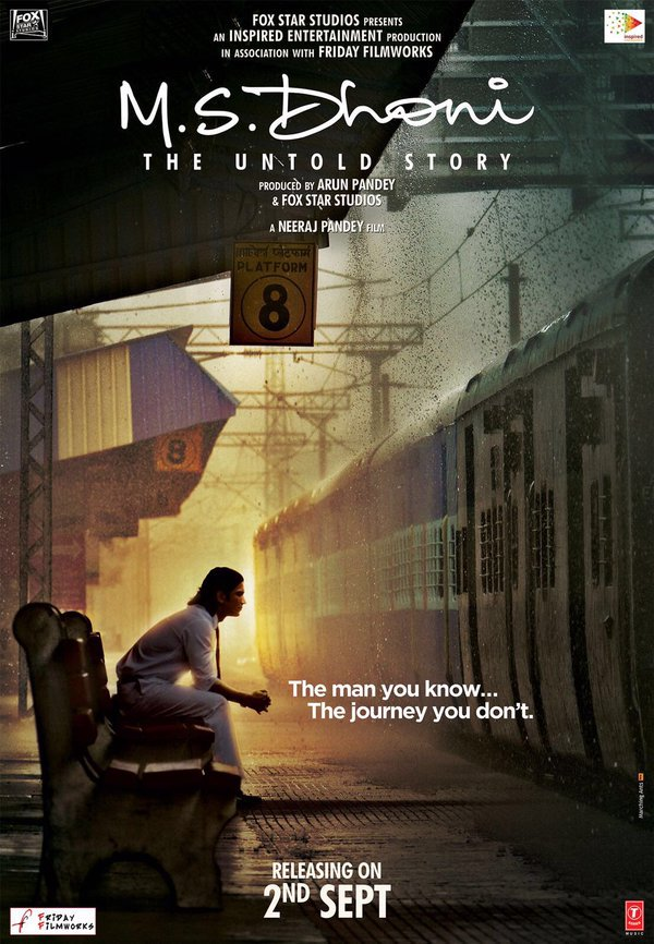 The Teaser Poster of M.S. Dhoni- The Untold Story is here and it is blowing our minds!- Poster