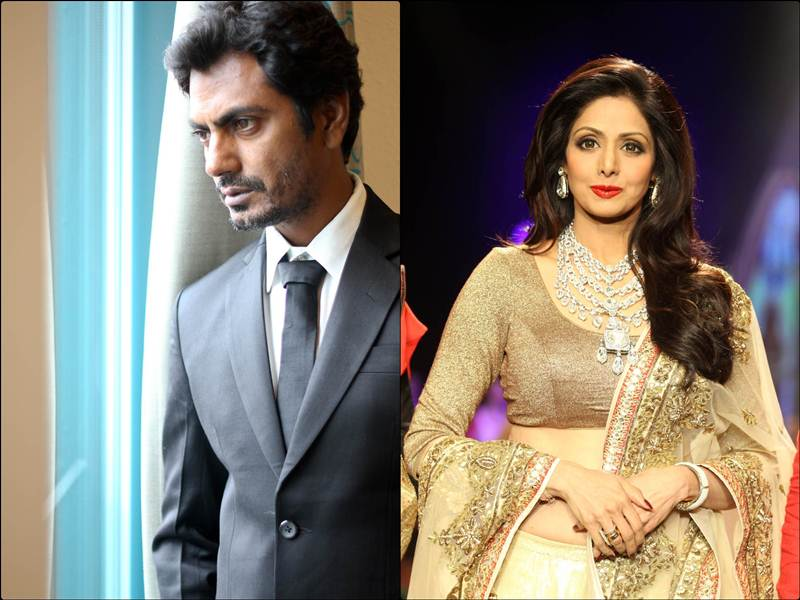 How cool would it be to see Nawazuddin Siddiqui and Sridevi together in a thriller!