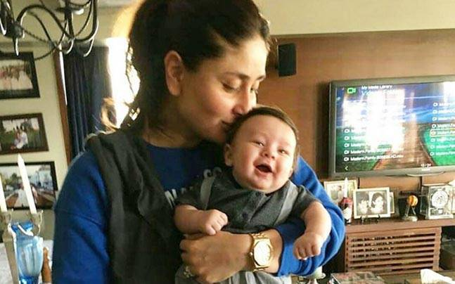 Taimur Ali Khan with Kareena kapoor