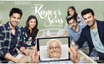 Kapoor & Sons Music Review and Soundtrack   Just an average soundtrack