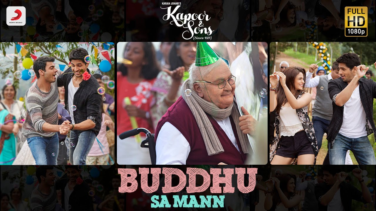 The lively song 'Buddhu Sa Mann' from Kapoor and Sons is out!