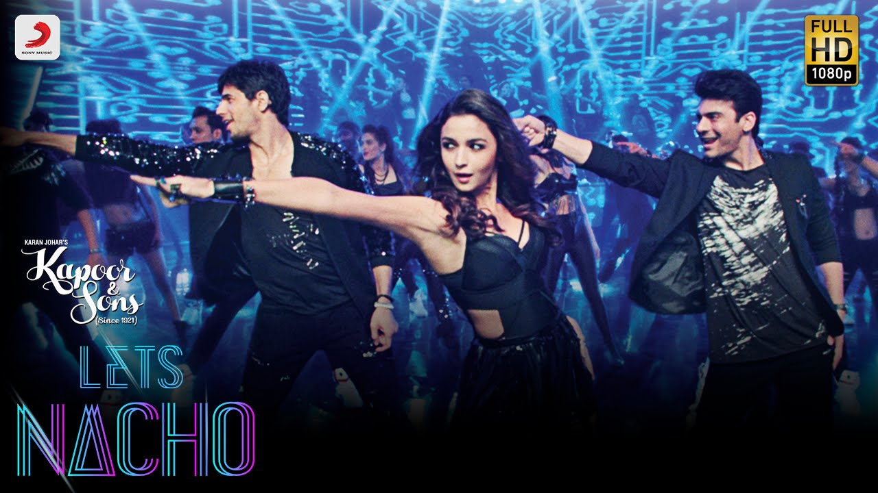 Put on your dancing shoes and Lets Nacho with Alia, Sidharth and Fawad!