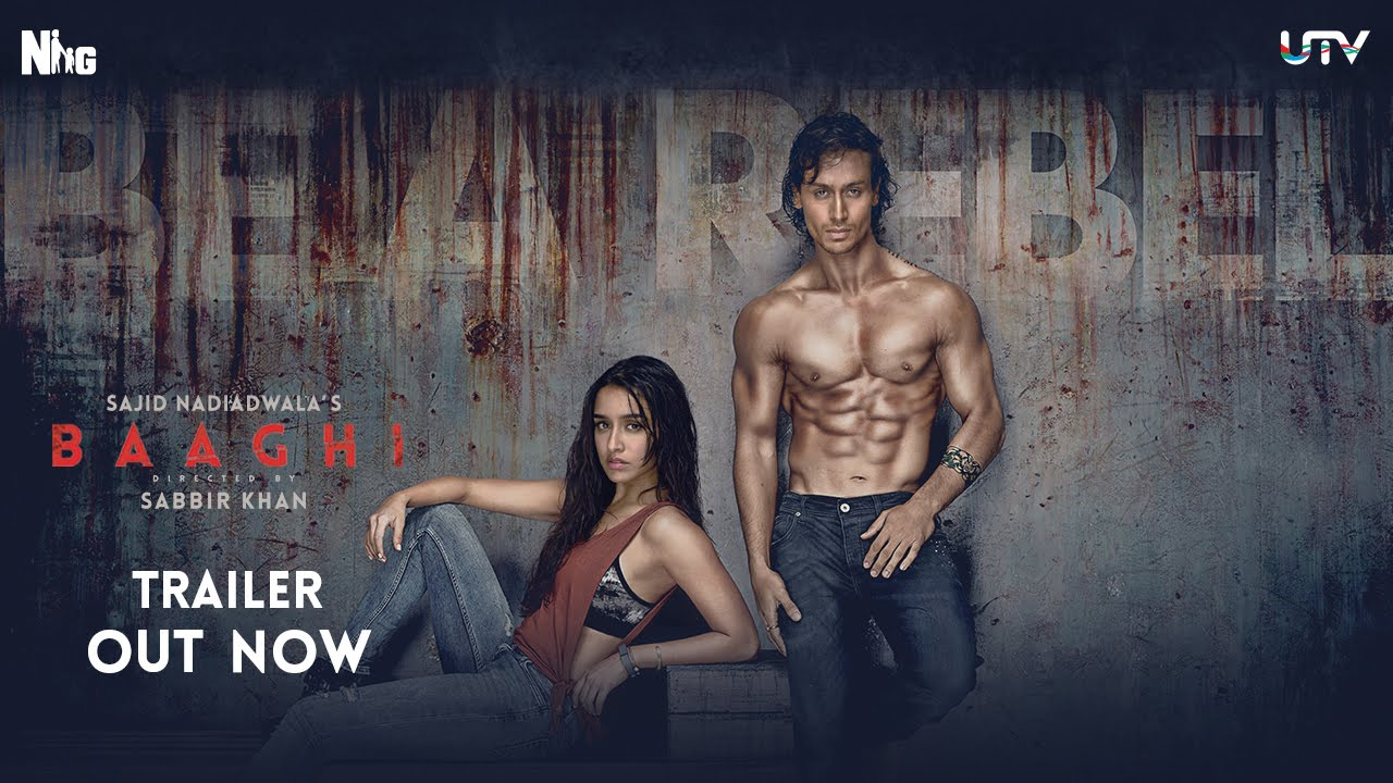 Baaghi Trailer Review- Tiger Shroff and Shraddha Kapoor in full action mode!
