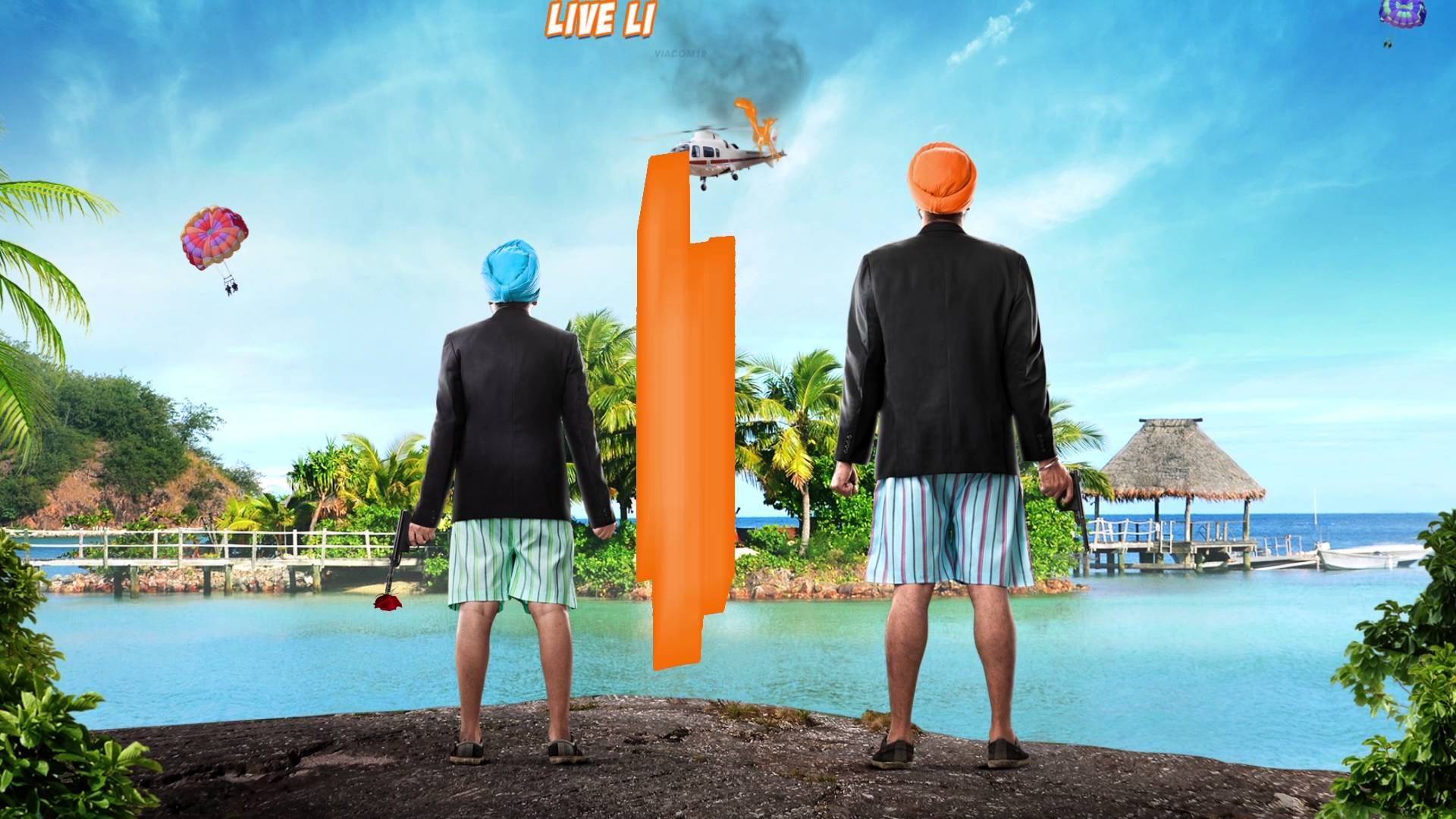 The Motion Poster of Santa Banta Pvt. Ltd. inspires you to Live Life 'Singh' Size!