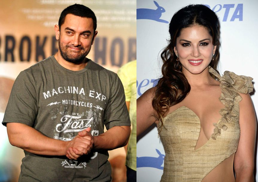 Aamir Khan and Sunny Leone to do a dance number in 'Dangal'!
