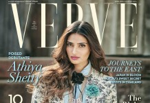 Athiya Shetty looks so poised in the cover of Verve India!