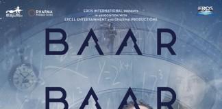 Baar Baar Dekho Poster feat. Katrina and Sidharth