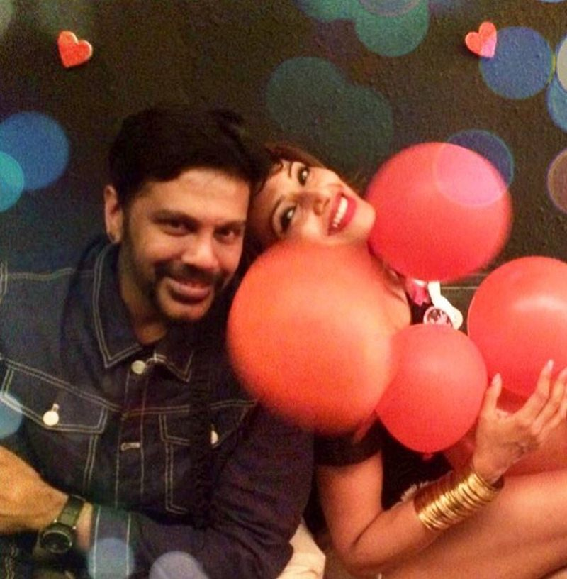 And the Celebrations have begun | Pictures of Bipasha Basu and Karan Singh Grover inside- Bipasha 4
