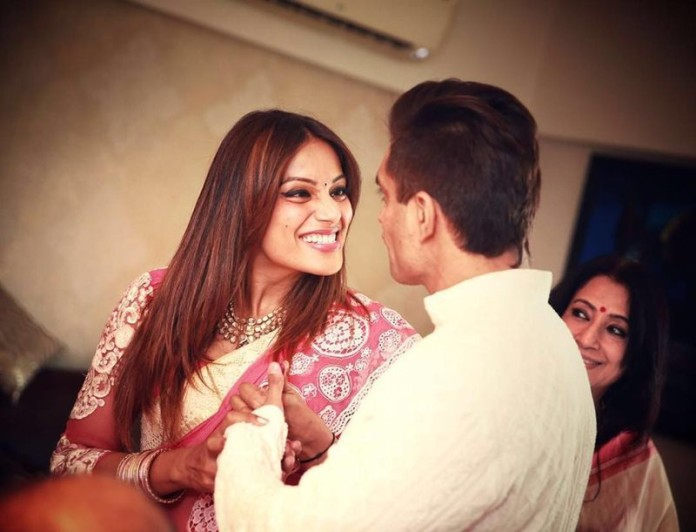 And the Celebrations have begun | Pictures of Bipasha Basu and Karan Singh Grover inside
