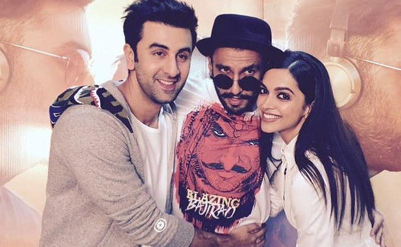Top 10 News of the Week- Straight from the streets of Tinsel Town!- Deepika with Ranveer and Ranbir