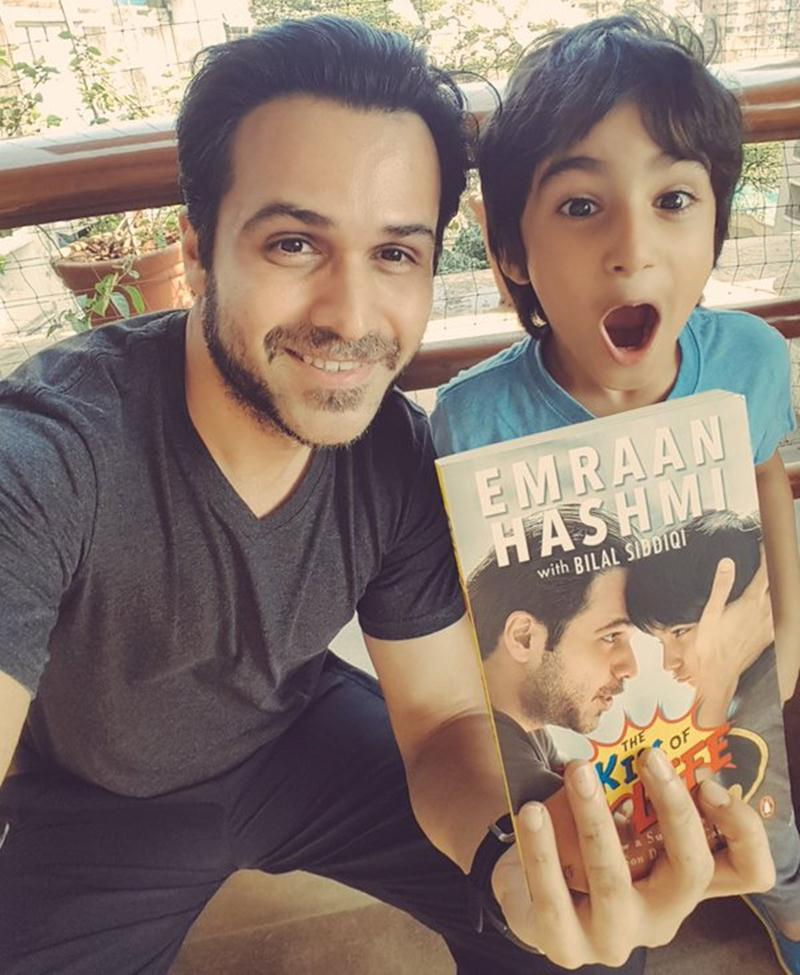 Top 10 Pictures of the Week | Bollywood in a Nutshell- Emraan and Ayaan