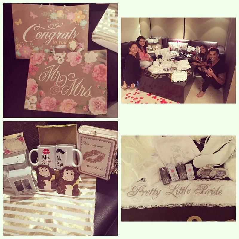 And the Celebrations have begun | Pictures of Bipasha Basu and Karan Singh Grover inside- Gifts 1
