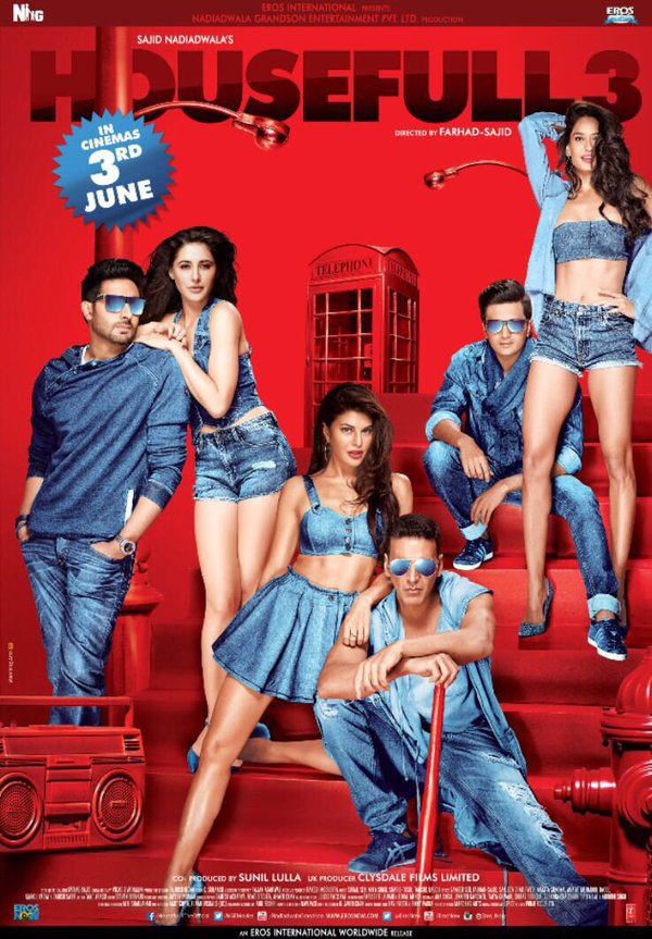 Housefull 3 First Look featuring the star cast