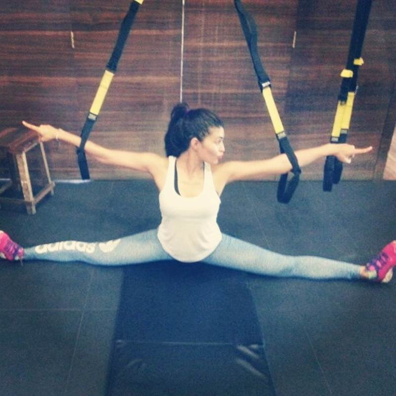 10 Photos that are proof of Jacqueline Fernandez being a big Fitness Freak- Jacky 1
