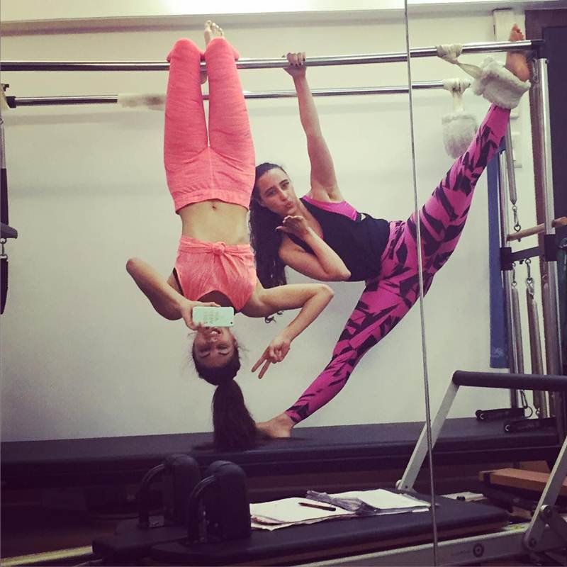 10 Photos that are proof of Jacqueline Fernandez being a big Fitness Freak- Jacky 10