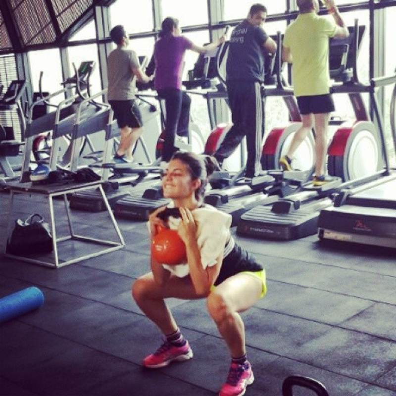 10 Photos that are proof of Jacqueline Fernandez being a big Fitness Freak- Jacky 2