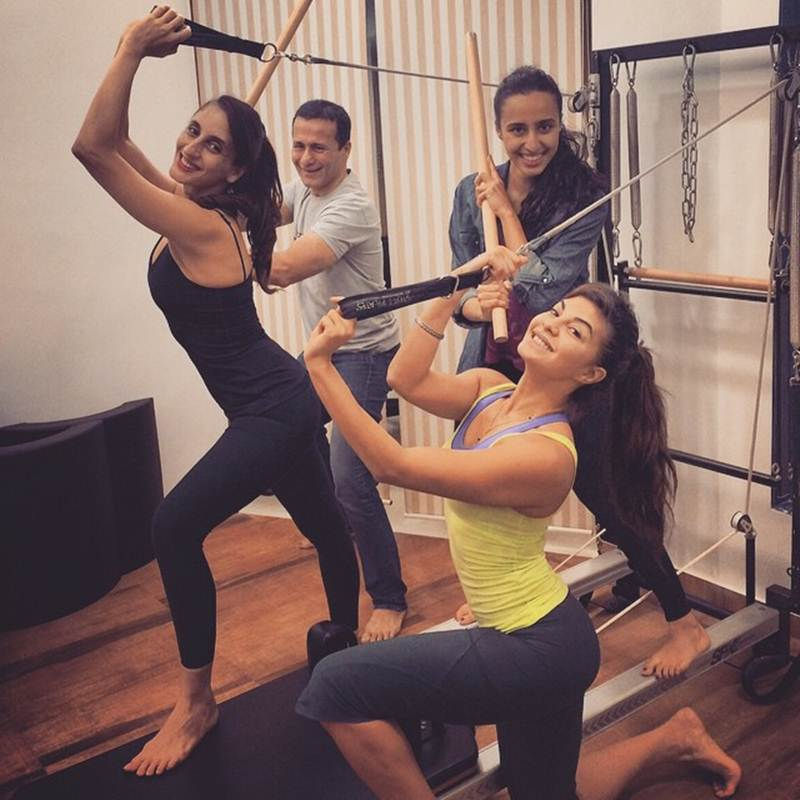 10 Photos that are proof of Jacqueline Fernandez being a big Fitness Freak- Jacky 3