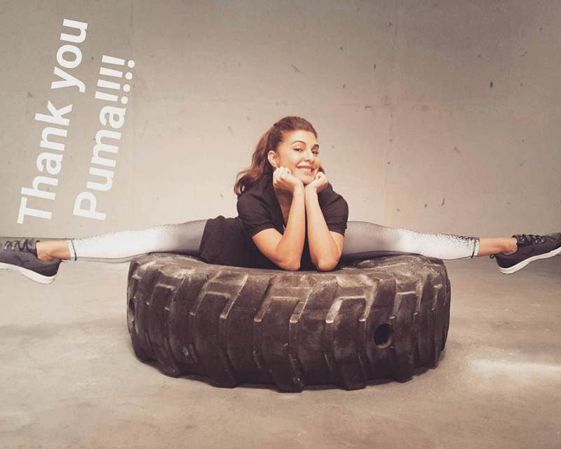 10 Photos that are proof of Jacqueline Fernandez being a big Fitness Freak- Jacky 8
