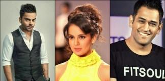 Kangana Ranaut To Work With Virat Kohli and M.S. Dhoni