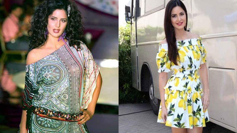 Bollywood Actresses Then and Now | How they have changed with time- Katrina Then and Now