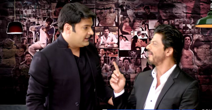 Promo: SRK and Kapil Sharma for The Kapil Sharma Show