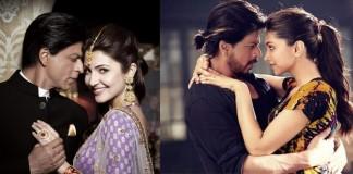 Shah Rukh Khan will romance Anushka Sharma & Deepika Padukone again this year!
