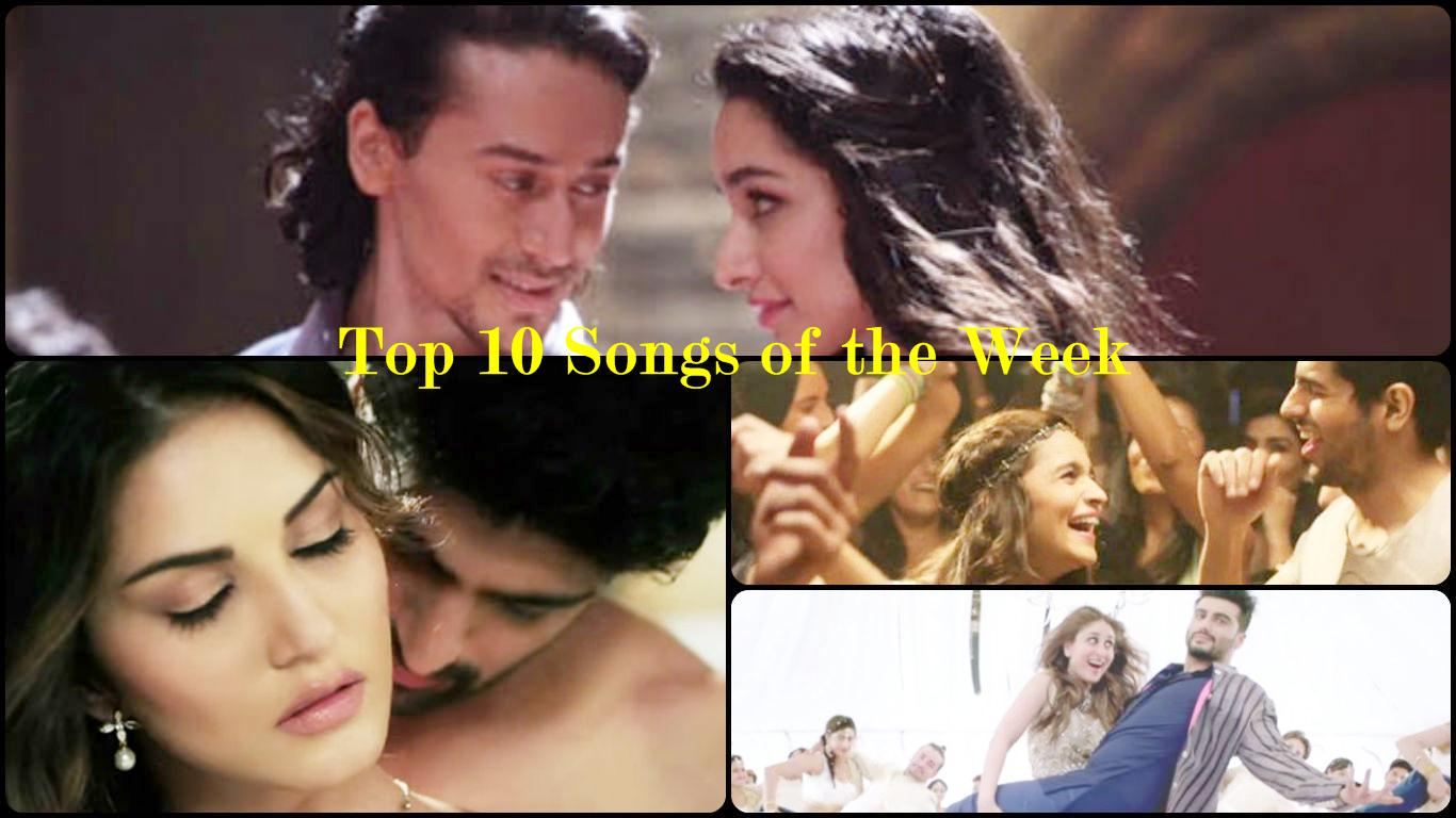 Top 10 Bollywood Songs of the Week | 04-April-2016 to 10-April-2016