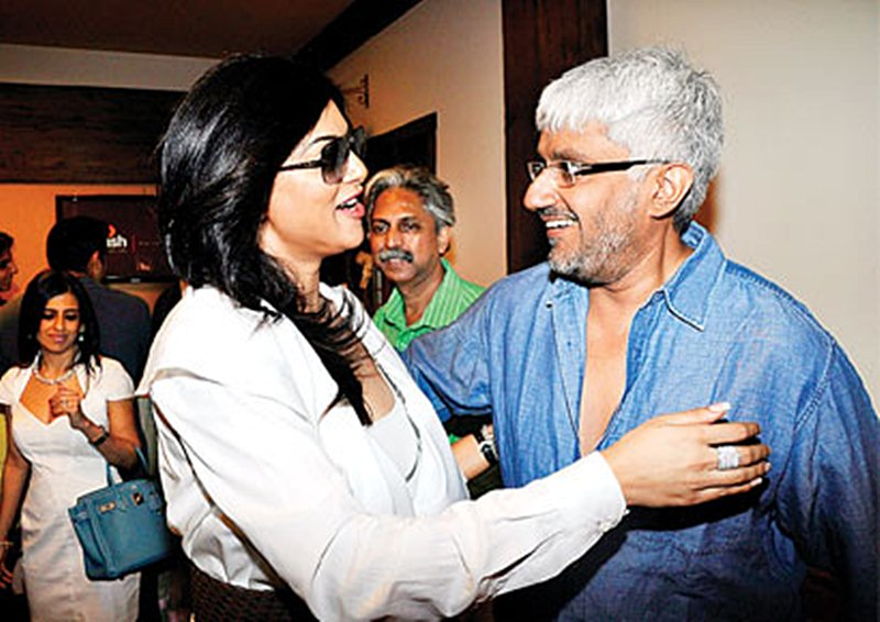 Exclusive: Vikram Bhatt tells all about his extra-marital affair with Sushmita Sen- Vikram with Sushmita