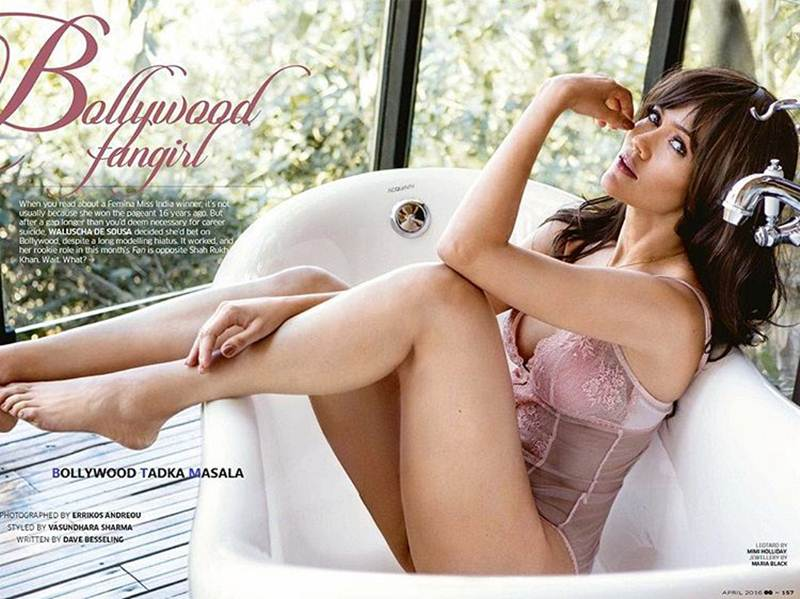 'Fan' girl Waluscha De Sousa looks beautiful in GQ and CineBlitz photoshoot- Waluscha GQ 1