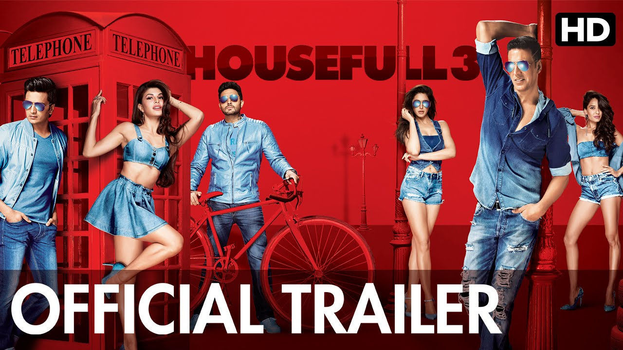 Housefull 3 Trailer Review: A ride full of laughter and confusion!
