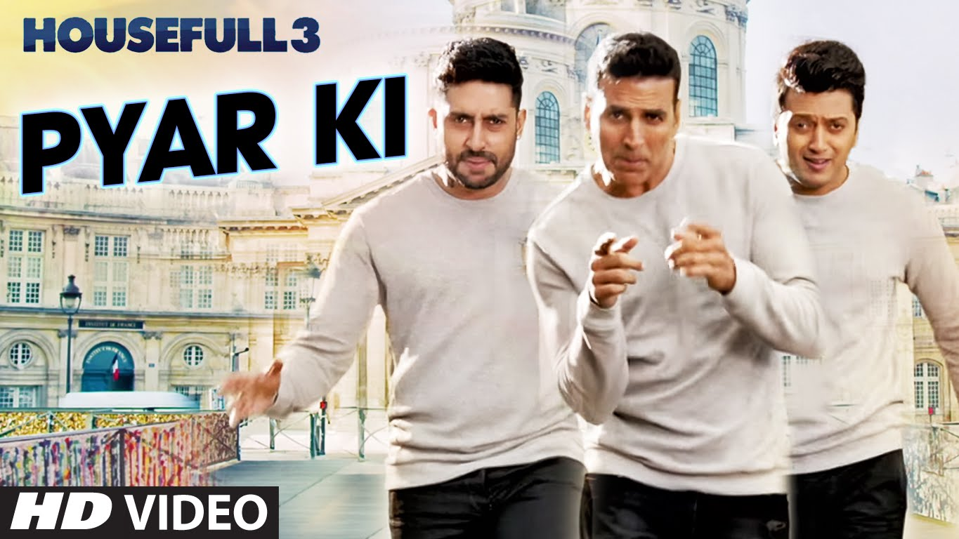 Housefull 3 begins with the witty song 'Pyar Ki Maa Ki'