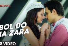 the first song 'Bol Do Na Zara' from Emraan Hashmi's Azhar