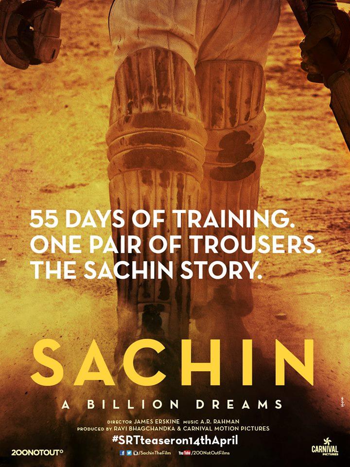 Poster of Sachin- Film based on Sachin Tendulkar
