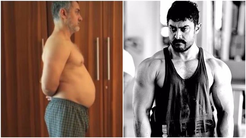 Top 10 Challenging Roles Played By Bollywood Actors In The Last Decade- Aamir in Dangal
