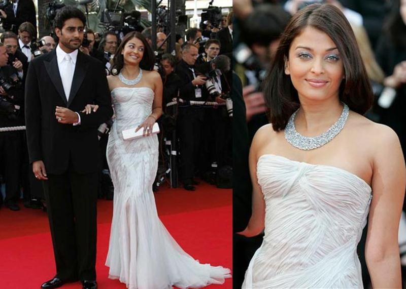 Aishwarya Rai Bachchan and Sonam Kapoor's various looks at Cannes over the years- Aish 2007