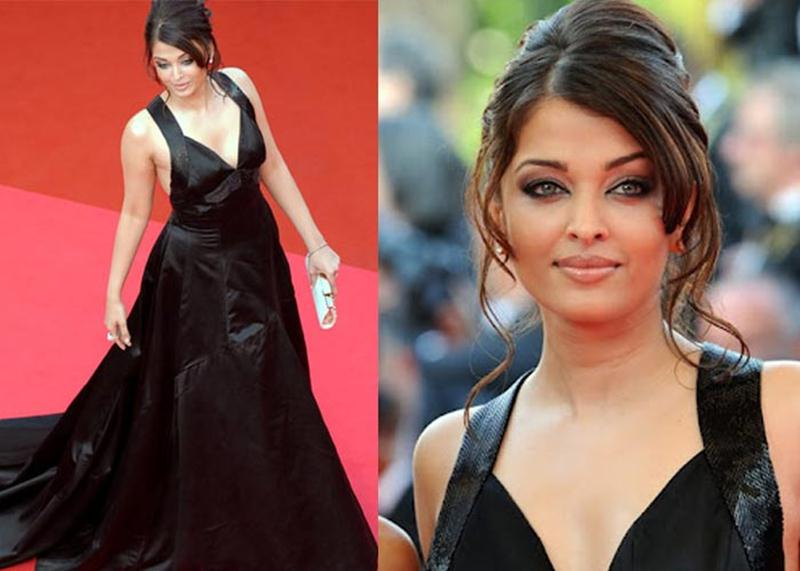Aishwarya Rai Bachchan and Sonam Kapoor's various looks at Cannes over the years- Aish 2008 2