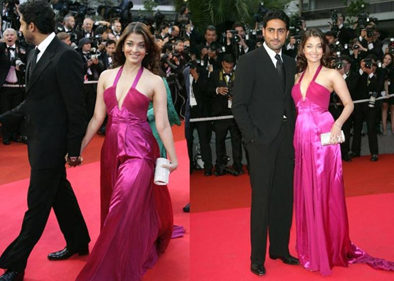 Aishwarya Rai Bachchan and Sonam Kapoor's various looks at Cannes over the years- Aish 2008 3