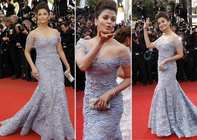 Aishwarya Rai Bachchan and Sonam Kapoor's various looks at Cannes over the years- Aish 2010 2