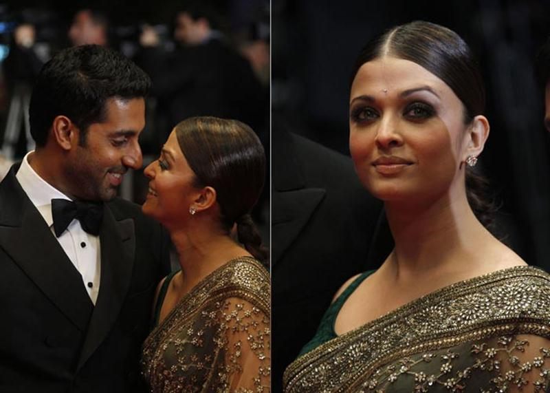 Aishwarya Rai Bachchan and Sonam Kapoor's various looks at Cannes over the years- Aish 2010 5