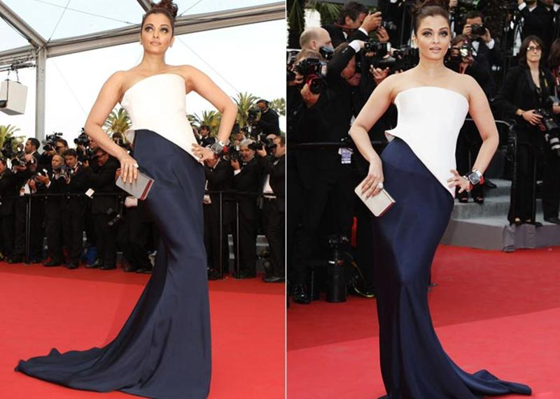 Aishwarya Rai Bachchan and Sonam Kapoor's various looks at Cannes over the years- Aish 2011 2