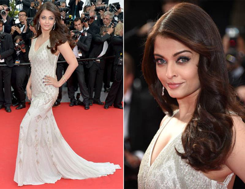 Aishwarya Rai Bachchan and Sonam Kapoor's various looks at Cannes over the years- Aish 2014 2