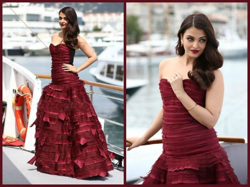 Aishwarya Rai Bachchan and Sonam Kapoor's various looks at Cannes over the years- Aish 2015 2
